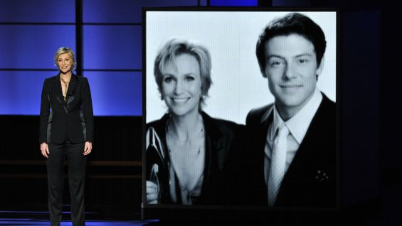 jane_lynch_cory_montheith_emmys